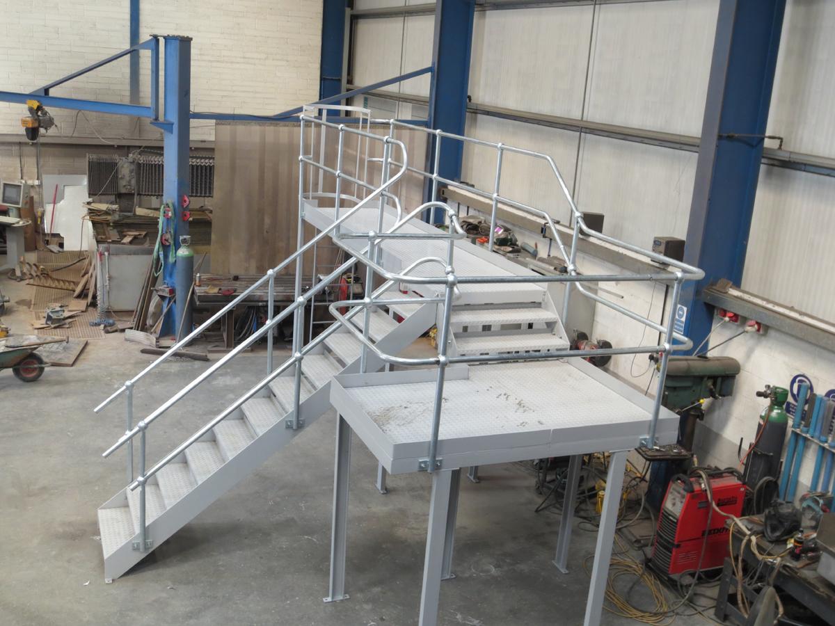 Steel Stair and Platform