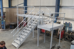 Steel Stair and Platform2