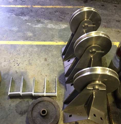 Fabrication of Conveyors and Pulleys