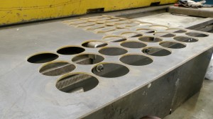 Waterjet cuttting