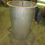 Sibelco stainless steel repair
