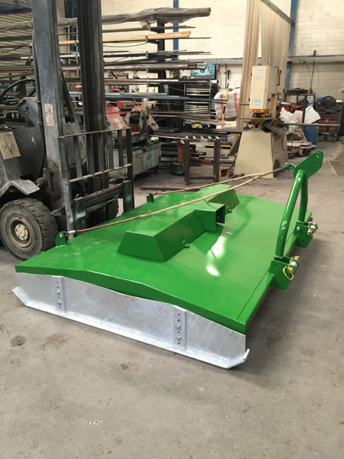 Agricultural Topper Repair - After