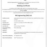 CE Marking Certificate 2