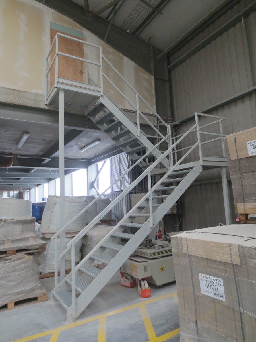 Staircases For Fire Escapes Rb Engineering Fabrication And