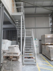 Fabrication of Fire Staircase2