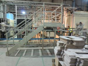 Platform staircase fabrication 4