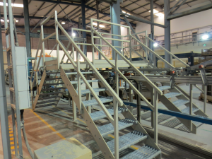 Platform staircase fabrication 2