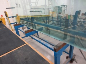 Glass rack fabrication